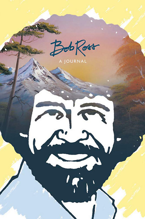 bob ross illustrated pages journal