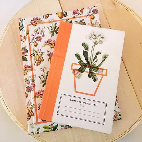 gardener's botanical compositions journal set of 2