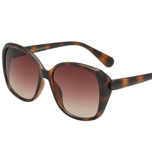 amelia oversized tortoise ombre sunglasses