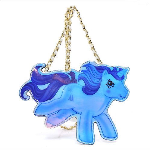 my little pony holographic 3D unicorn purse bag