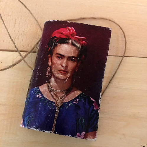 frida kahlo MINI notebook journal handmade