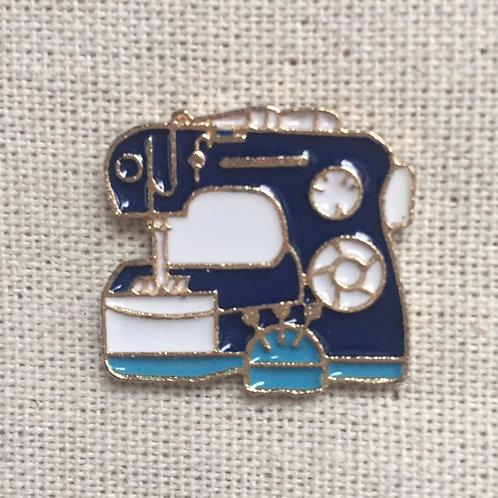 diy crafter sewing machine enamel pin