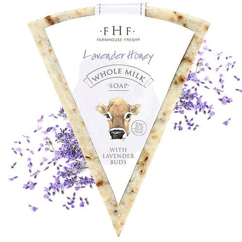 Farmhouse Goat's Milk LAVENDER HONEY Luxury Soap