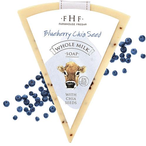 Farmhouse Goat's Milk BLUEBERRY CHIA SEED Luxury Soap