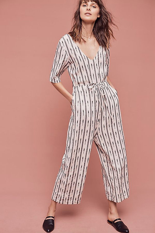 anthropologie saturday sunday catrinna ikat jumpsuit M