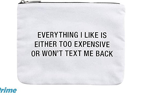 everything i like is either too expensive... cosmetic bag