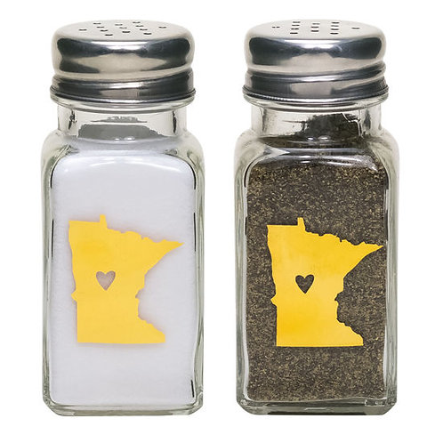MINNESOTA salt & pepper shaker set
