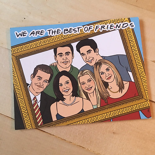 FRIENDS tv show funny pop culture birthday card