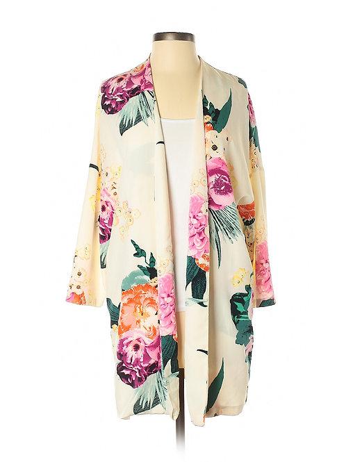 NEW! h&m floral garden kimono jacket 4