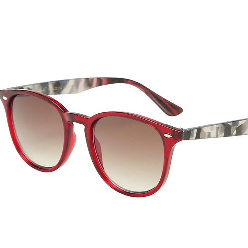 courtney red sunglasses