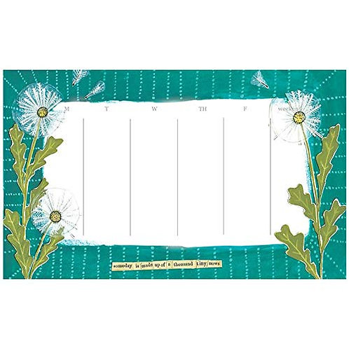 curly girl designs weekly desk pad - great office gift!