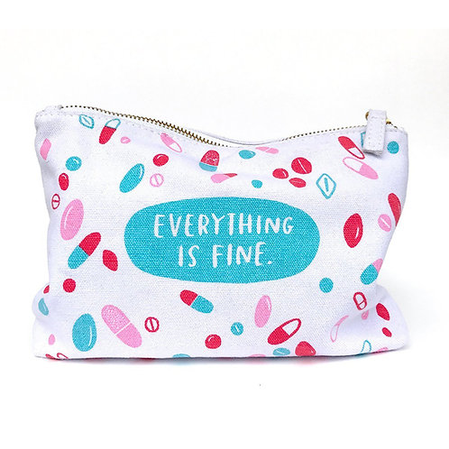emily mcdowell everything is fine makeup bag