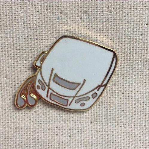 old school sony discman enamel pin