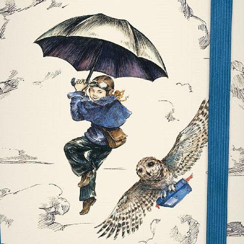 girl aviator illustrated owl journal