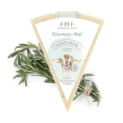 Farmhouse Goat's Milk ROSEMARY MINT Luxury Soap