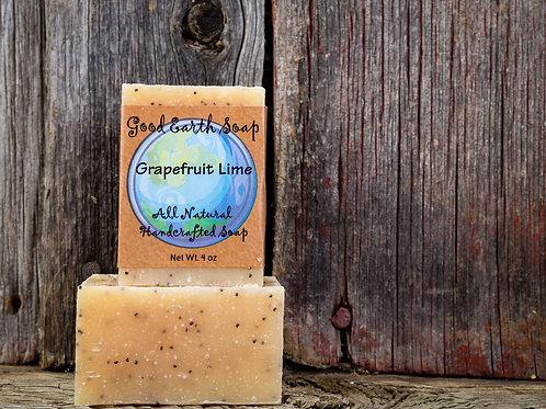 good earth grapefruit lime bar soap