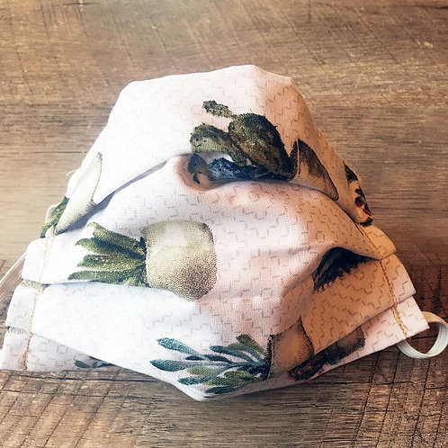 SUCCULENT handmade cloth face mask