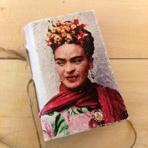 frida kahlo MINI notebook journal handmade