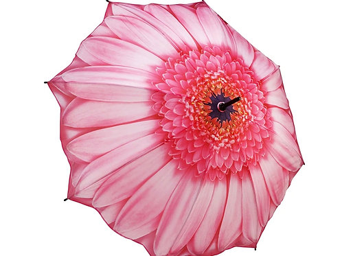pink daisy foldable umbrella