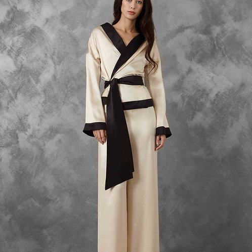 Champagne Kimono Pajamas