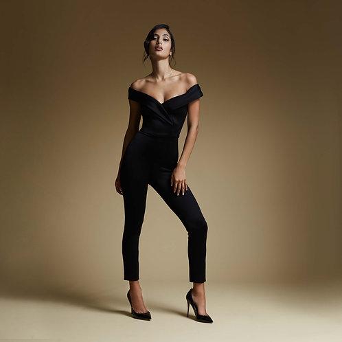 Crossed skinny Jumpsuit