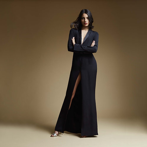 The Tuxedot Gown