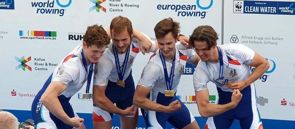 Medailová mládež na Evropském šampionátu juniorů i s naším přičiněním