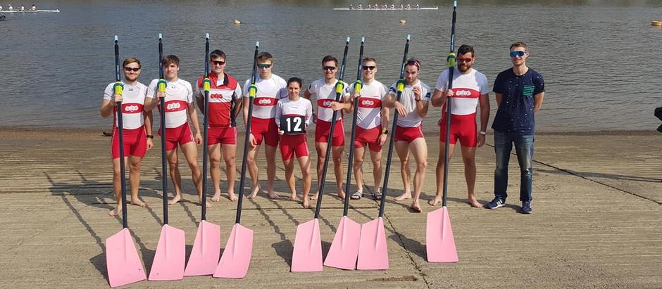 """ČVK Praha opět v Londýně na """"The Head of the River Race"""""""