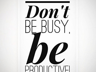 LIFE HACK: The Productivity Project