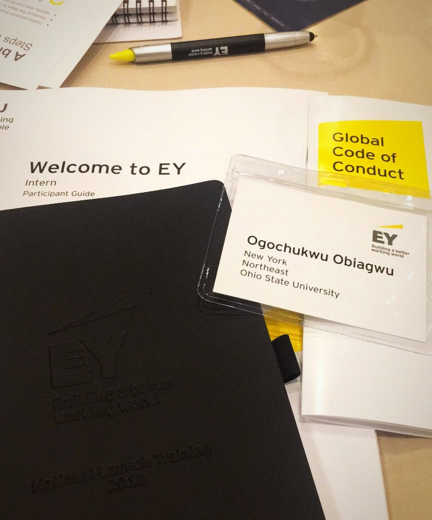 Ogo's EY Welcome Packet