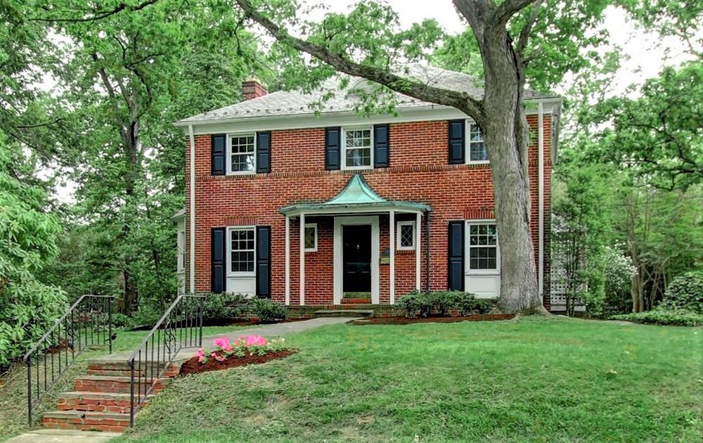 Brick vintage Colonial house for sale College Park
