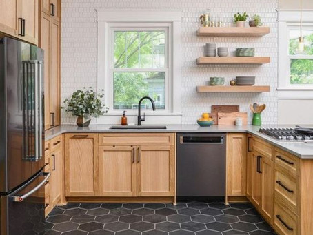 3 Ideas for Updating a Kitchen with Honey Oak Cabinets