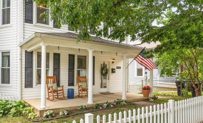 White picket fences, blue art-deco cottages & bright yellow doors in this weekend's Open House Guide