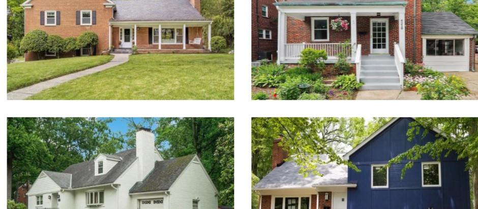 University Park Homes Sales in July