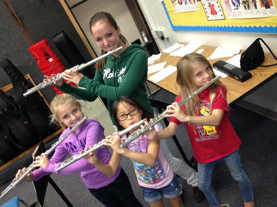 Elementary School Band Flute Instructor
