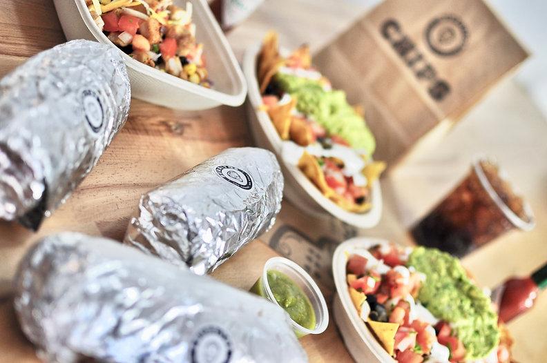Nuestra variedad de platos en Burritos - Fajitas - Bowls - Tacos - Nachos - Quesadillas