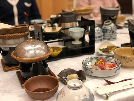 法善寺バスツアー 昼食