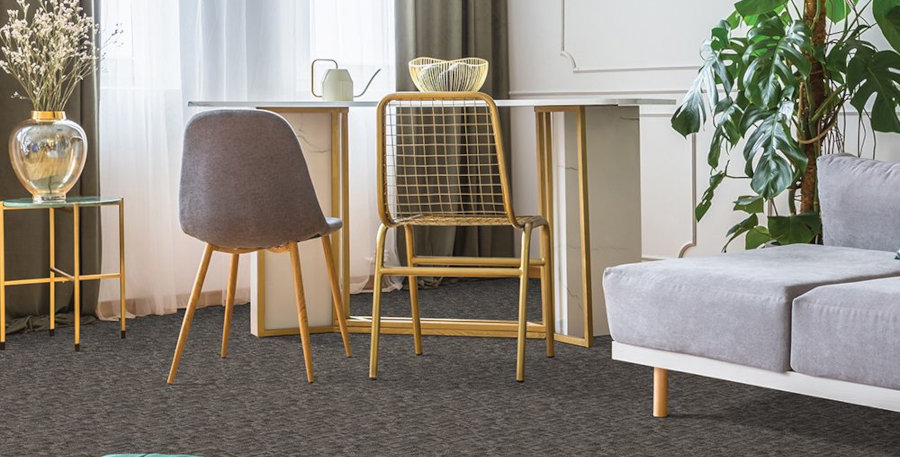 Play Hooky Patterned Level Cut & Loop Carpet