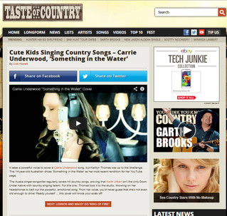 TASTE OF COUNTRY - Entertainment News Feature