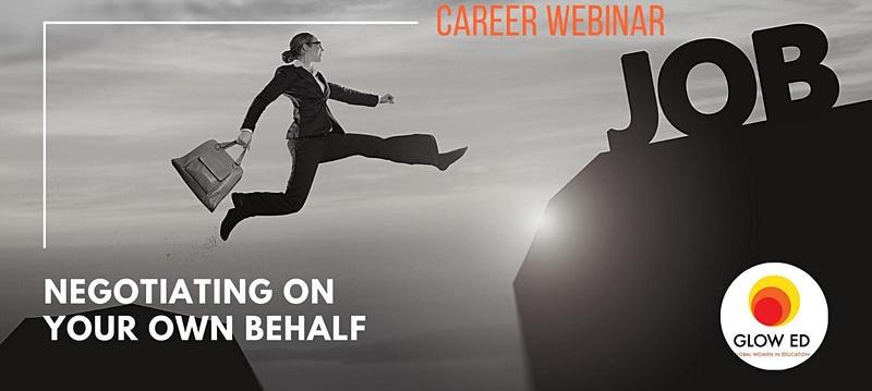 Career Webinar: Negotiating on your own behalf