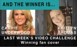 Country Music Top 40 Fan Video Winner