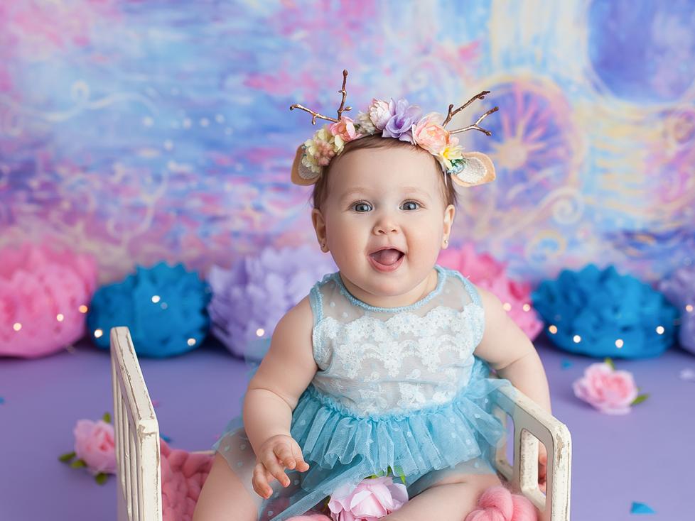 FAIRY TALE CAKE SMASH SESSION   HAMILTON ONTARIO CAKE SMASH SESSION   CHILD PHOTOGRAPHER IN HAMILTON