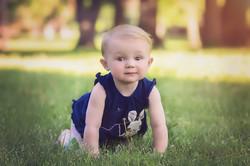 toddler in park