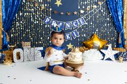 prince cake smash