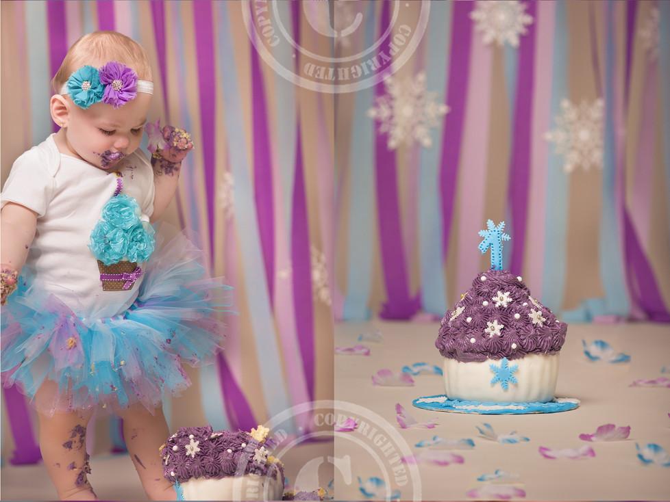 Baby Brooklyn's Cake Smash
