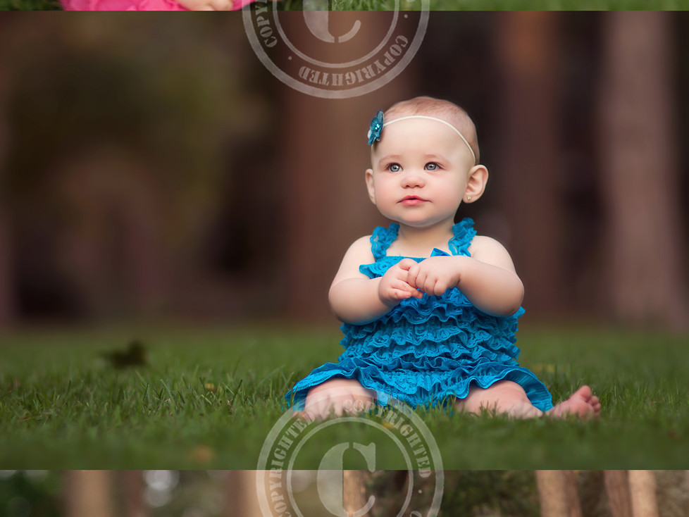 Baby Brooklyn's 8 Month Session