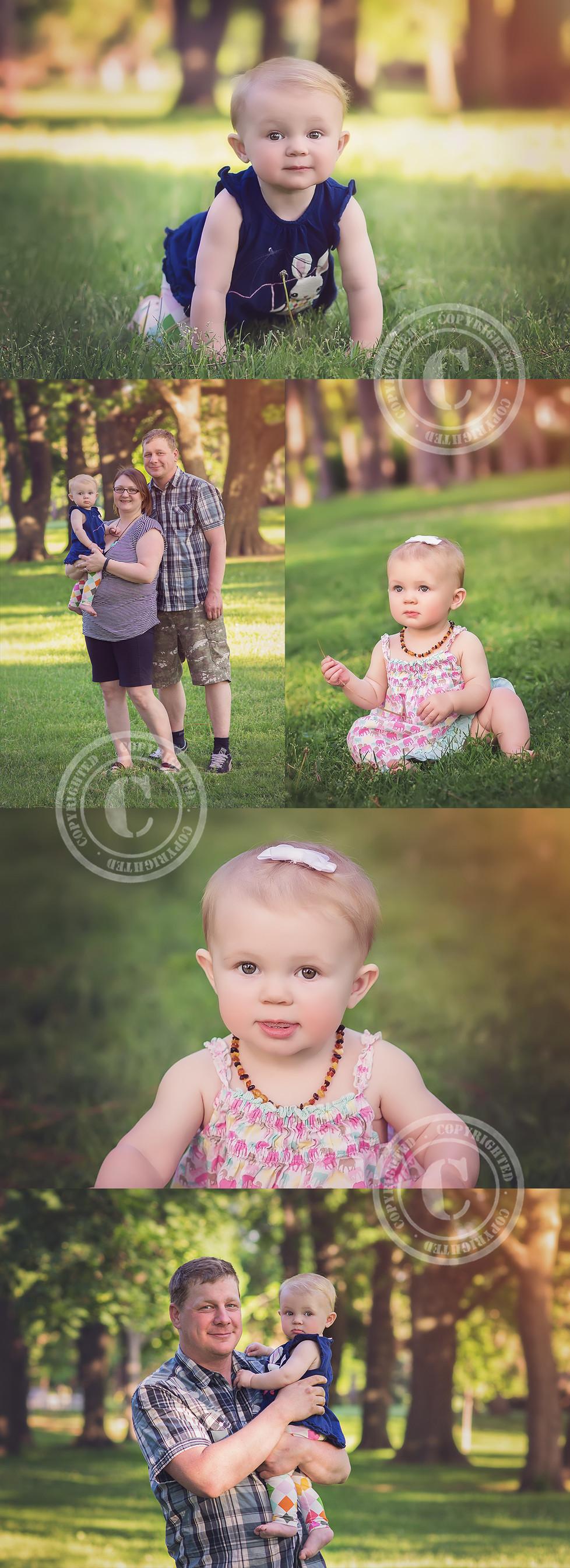 Baby Heidi and Family