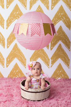 baby in hot air balloon