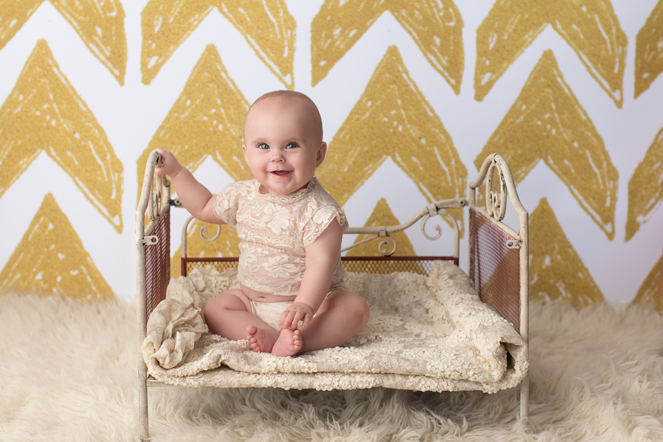 baby on little bed