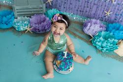 mermaid cake smash
